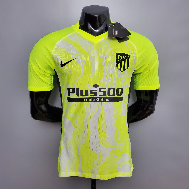 Camisa  Atlético de Madrid 2020-2021 Nike Jogador- Jogo 3