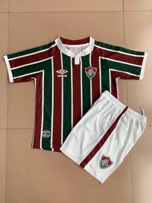 Camisa Fluminense 2020/2021 Infantil+ Short Jogo 1