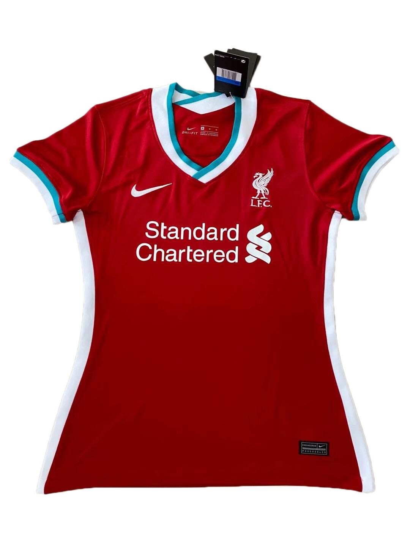 Camisa Liverpool Nike Home  2020/2021 Feminina