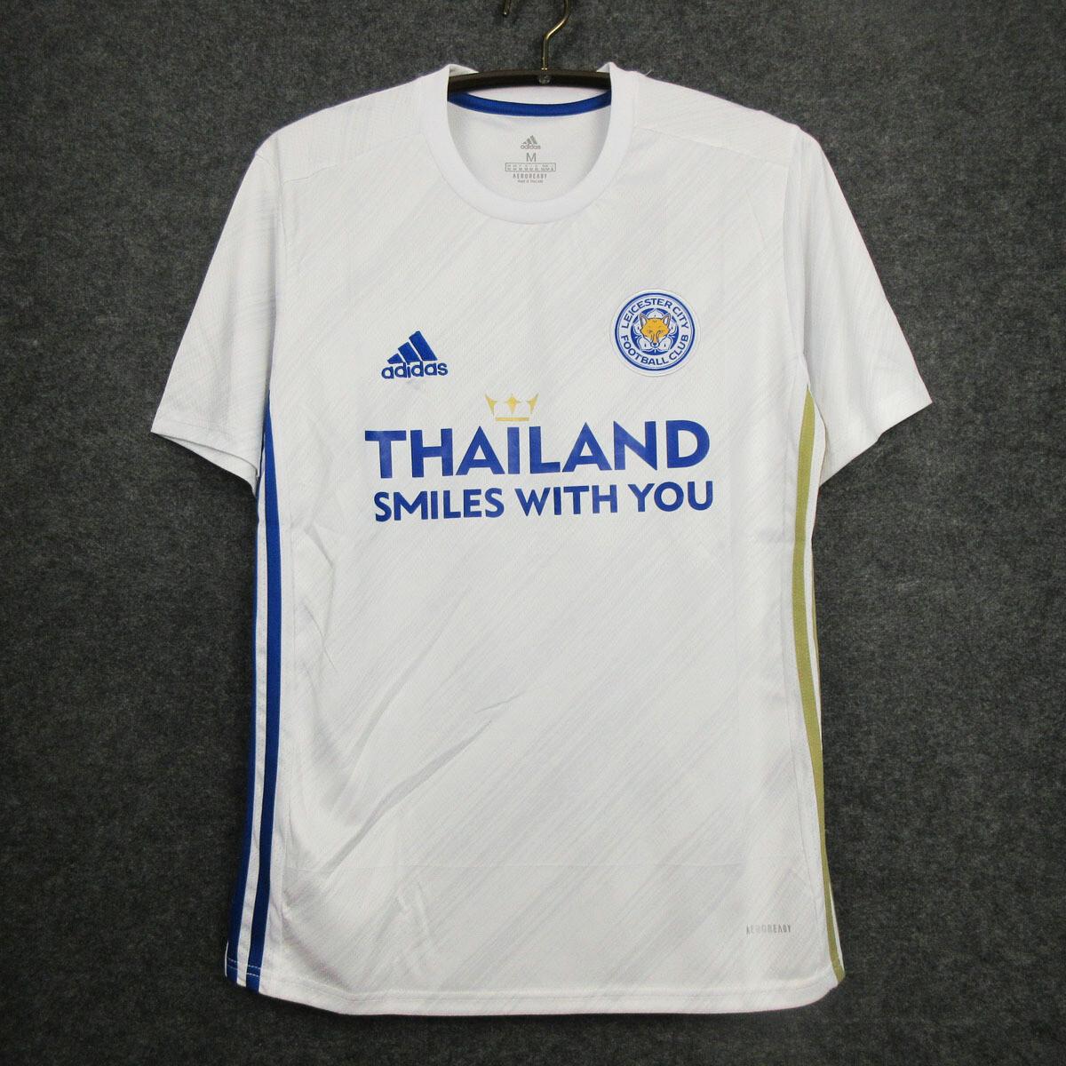 Camisa Leicester City  2020-2021 Adidas Jogo 2