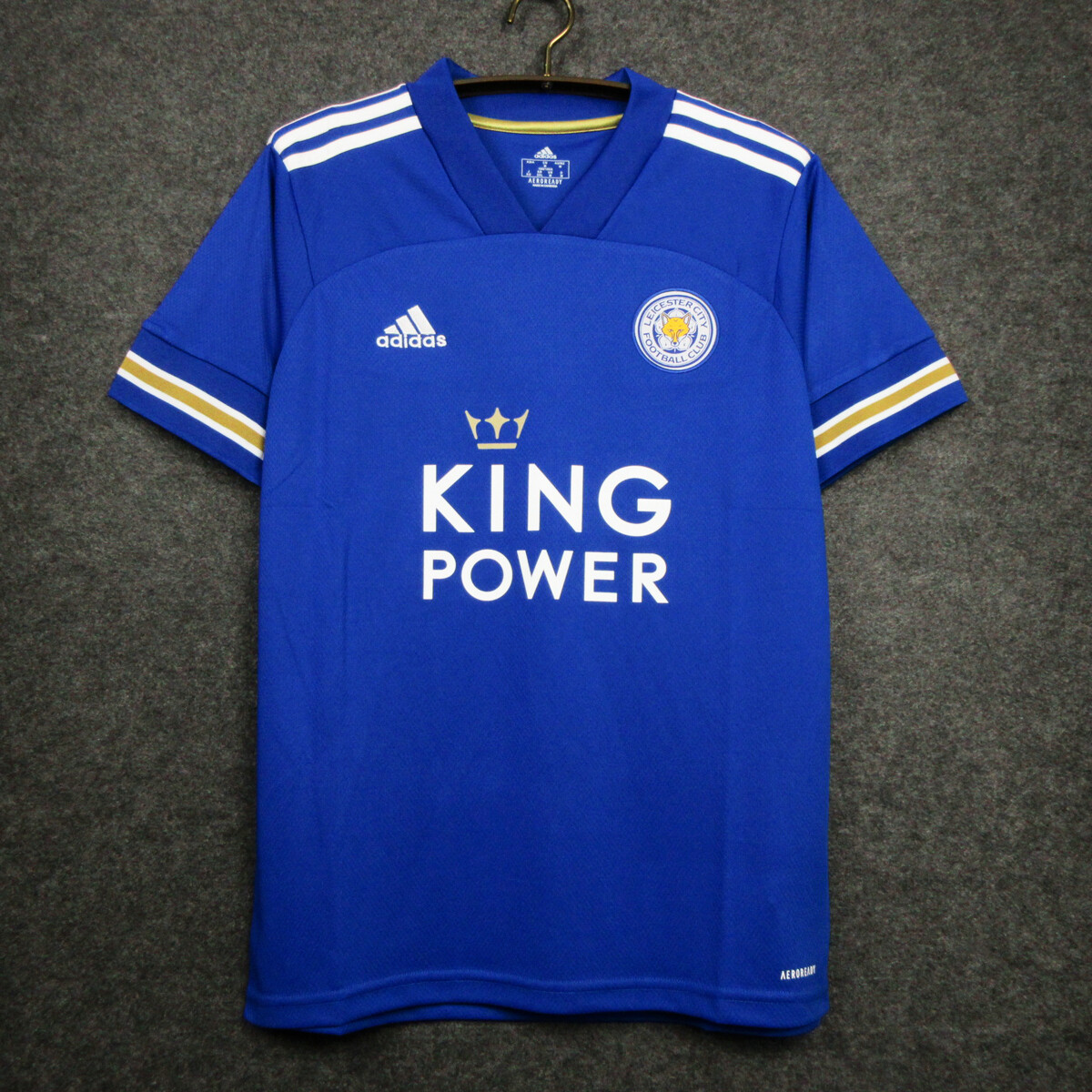 Camisa Leicester City Home  2020-2021 Adidas