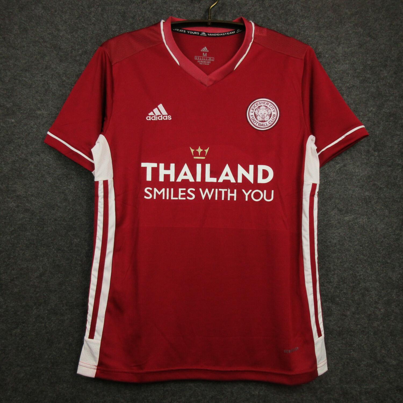 Camisa Leicester City  2020-2021 Adidas Jogo 3