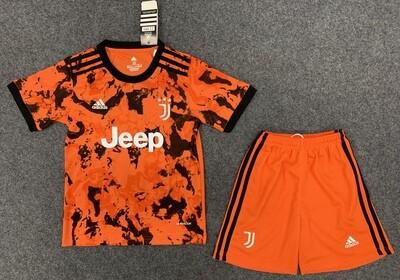 Kit Infantil Juventus 2020 Jogo 3