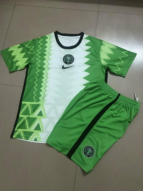 Camisa seleção Nigéria 2020 Jogo 1 Infantil