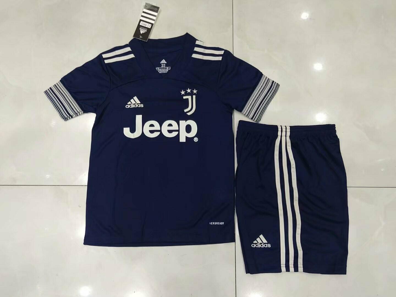 Kit Infantil Juventus 2020 Jogo 2