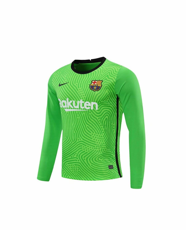 Camisa Barcelona Nike Goleiro  - Masculina Manga Longa 2020/2021