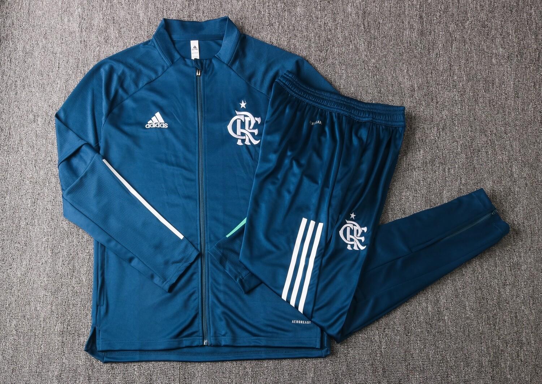 Kit Agasalho Flamengo 20/21 Adidas Masculino