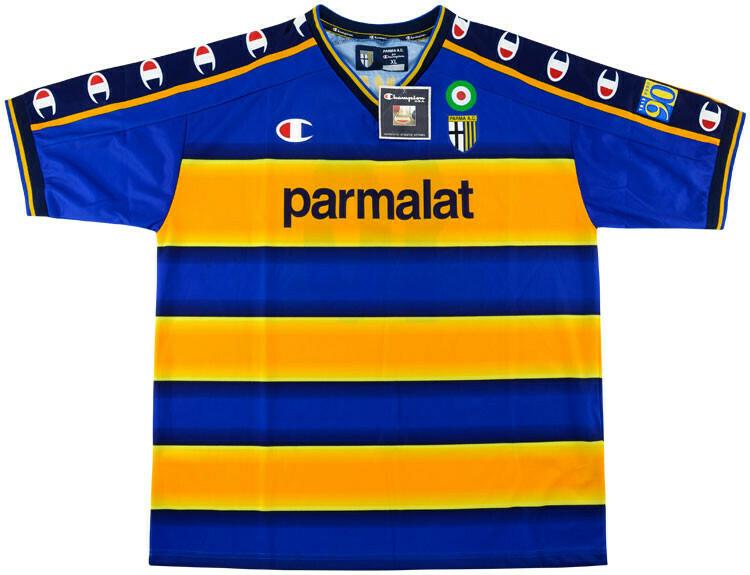 Camisa Parma Retro 2002/2003 champion