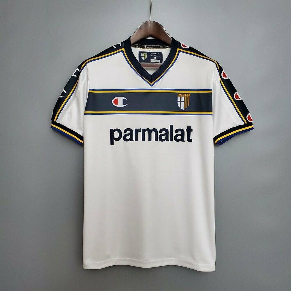 Camisa Parma Retro 2002/2003 champion Jogo 2