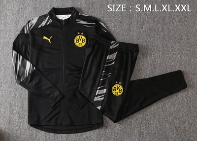Kit Agasalho Borussia Dortmund 2020/2021 Treino
