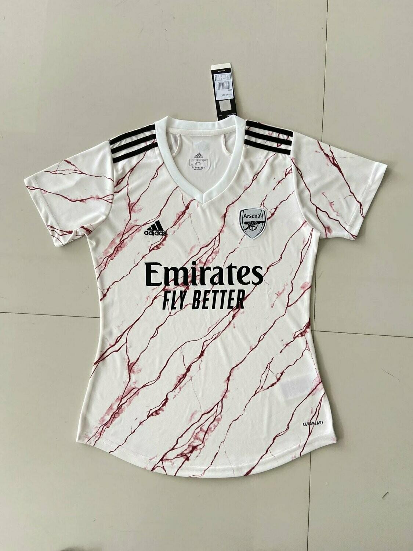 Camisa 2 Arsenal Feminina Adidas 2020/2021