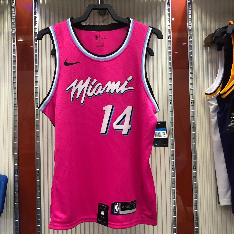 Regata Basquete NBA Miami Heat Vice Numero 14 HERRO Rosa