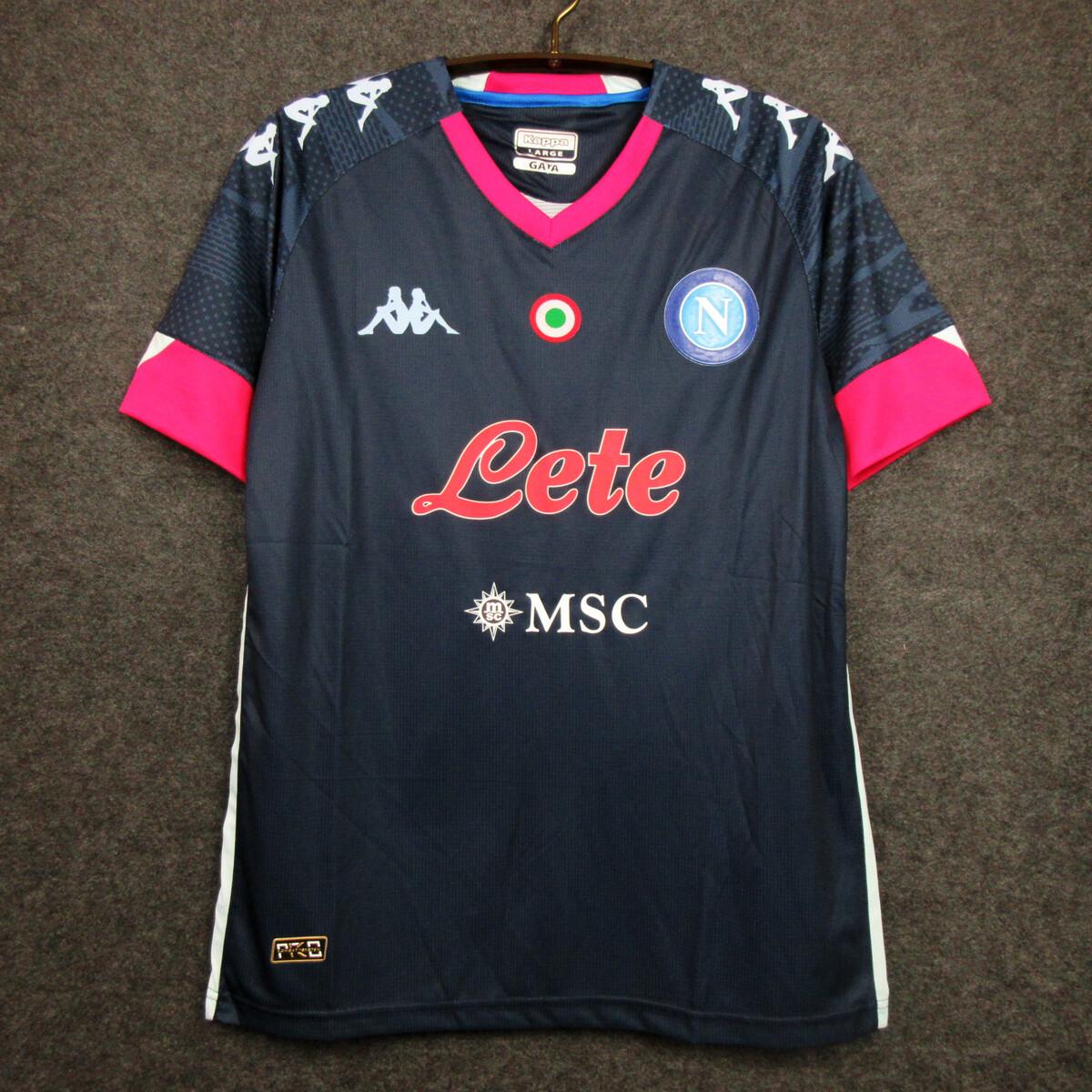 Camisa  Napoli 2020-2021 Kappa Jogo 3