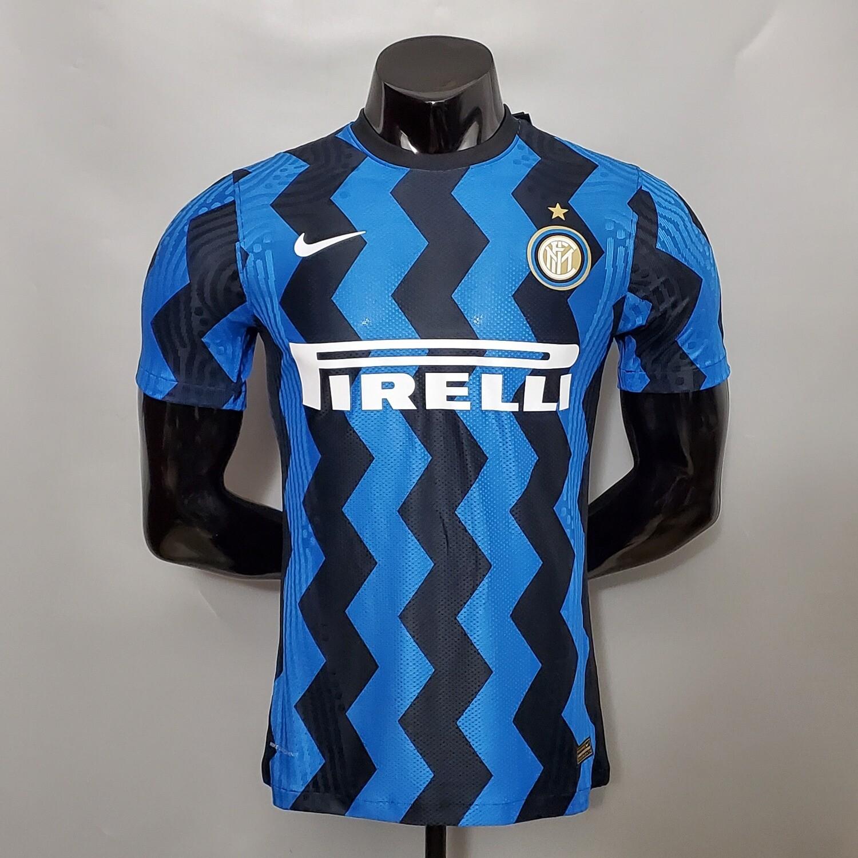 Camisa Inter de Milão Home 2020-2021 Nike Jogador