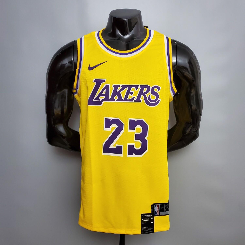Regata  Lakers Amarela James # 23