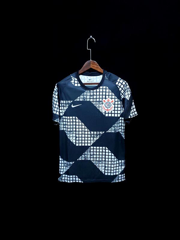 camisa do Corinthians 2020-2021 Nike (Pre-match)