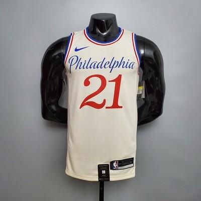 Regata Philadelphia 76ers City Edição limitada  EMBIID # 21