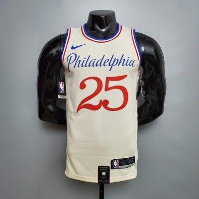 Regata Philadelphia 76ers City Edição limitada  SIMMONS # 25