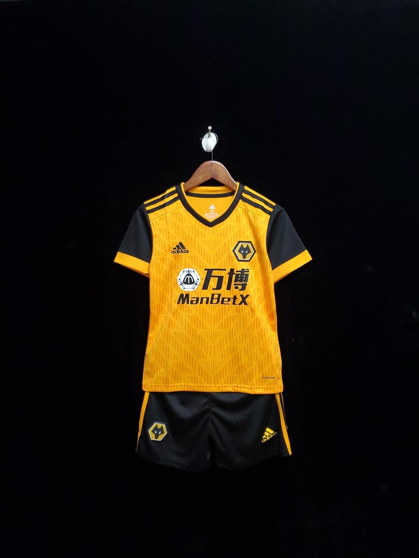 Camisa Wolverhampton  2020/2021 Infantil