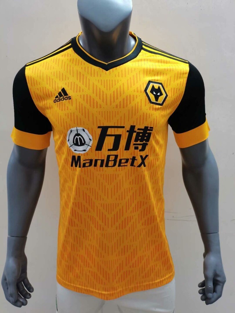Camisa Wolverhampton Home 2020-2021  Adidas Patrocínio