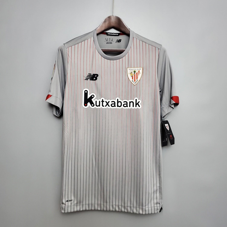 Camisa Athletic Bilbao 2020-2021 New Balance Uniforme 2