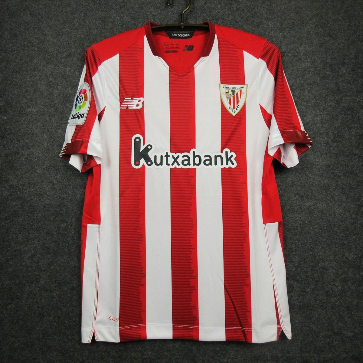 Camisa Athletic Bilbao 2020-2021 New Balance Uniforme Titular