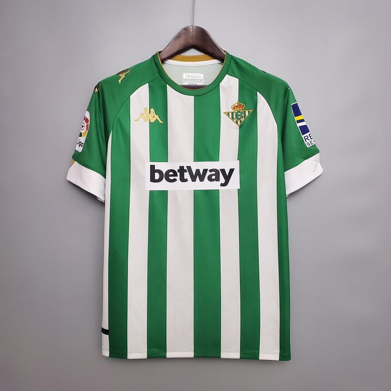 Camisa Real Betis 2020-2021 Home  Kappa