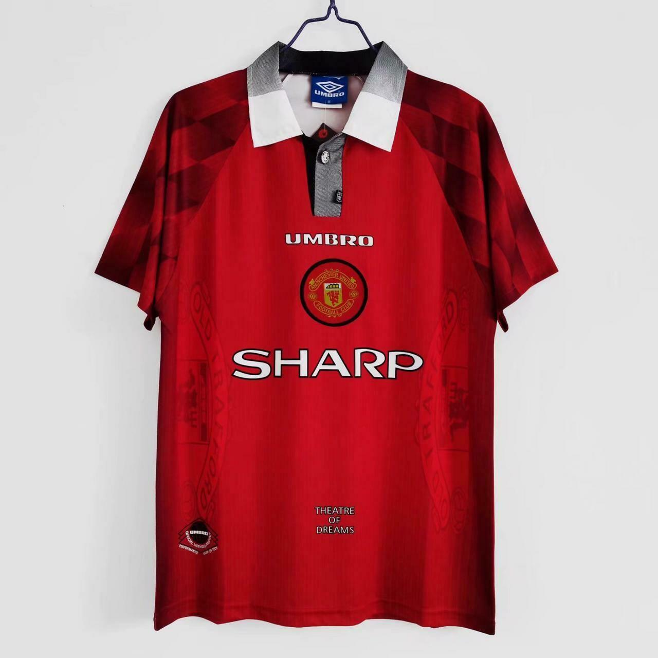 Camisa Retrô Manchester United 1996/97 Home