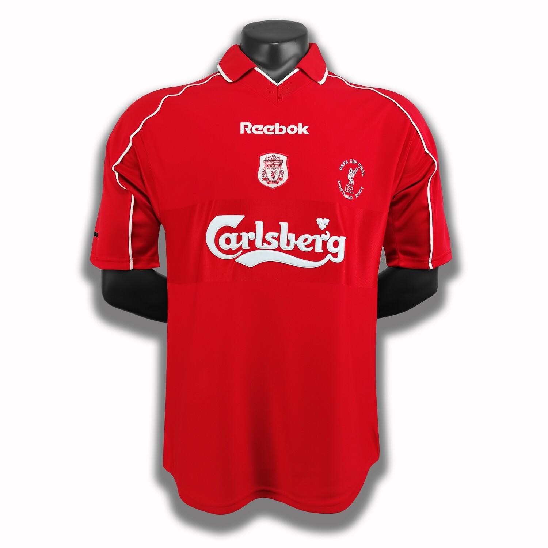 Camisa Retrô Liverpool 2000/2021 Home