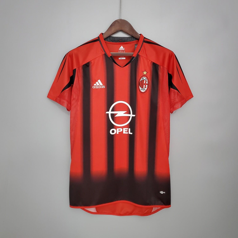 Camisa Milan 2004-2004 Adidas