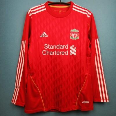 Camisa Liverpool 2010-2011 Manga longa