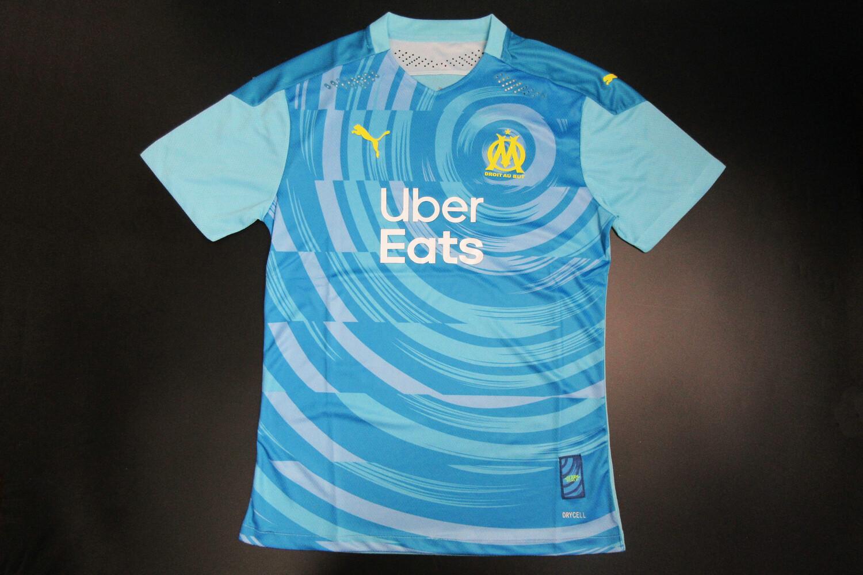 Camisa Olympique de Marselha 2020/2021 Uniforme 3 -Jogador