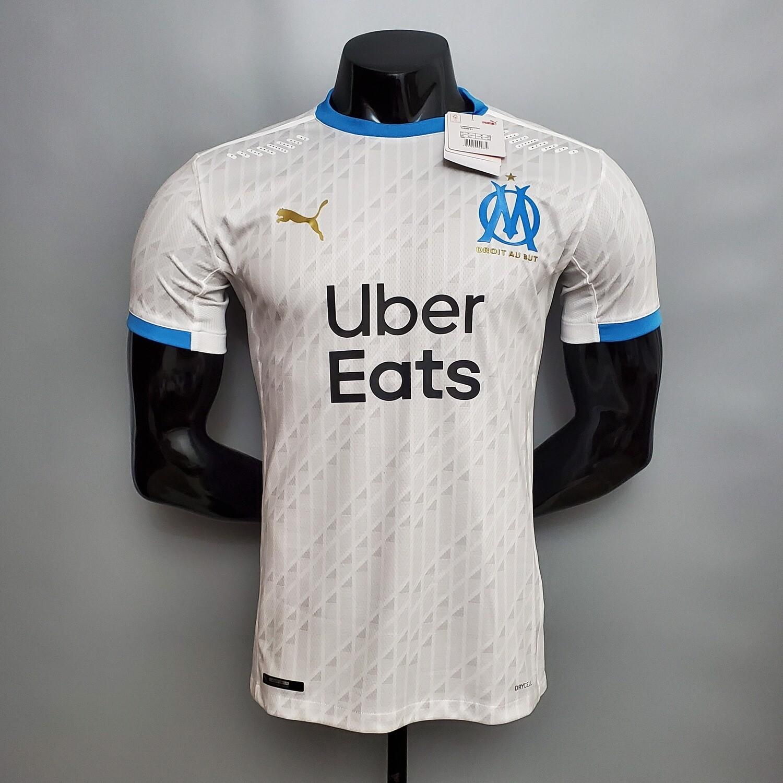 Camisa Olympique de Marselha 2020/2021 Home -Jogador