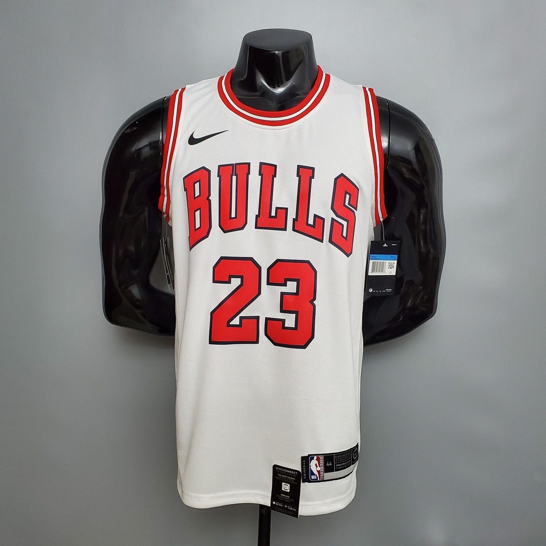 Regata  Chicago Bulls  Nike 2021 branca -Jordan # 23