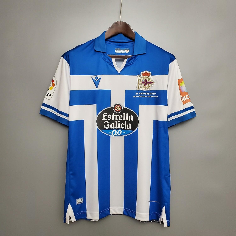 Camisa Deportivo de La Coruña  20/21  Home Macron