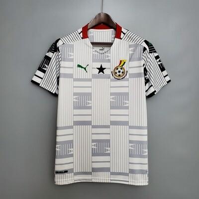 Camisa Seleção de Gana 2020-2021 Home