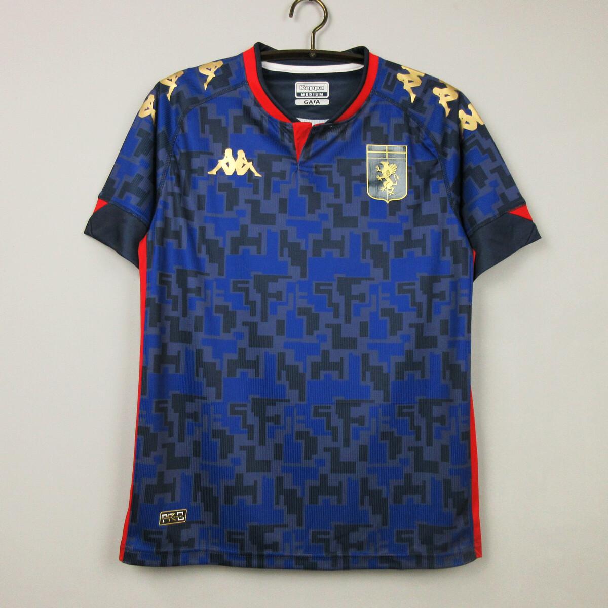 Camisa  Genoa CFC 2020-2021 Kappa Uniforme 3