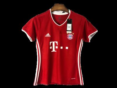 Camisa Bayern de Munique Home 20/21 - Torcedor Feminina