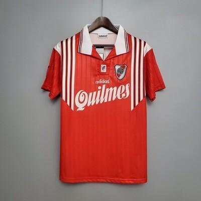 Camisa River Plate - Retrô -  95/96 away