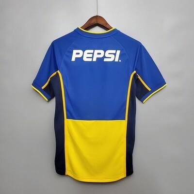 Camisa Boca Juniors - Retrô - Home - 2002