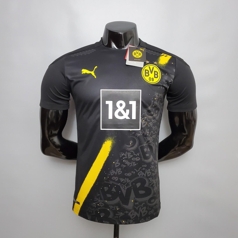 Camisa Borussia Dortmund away 2020/2021 Jogador Puma Masculina