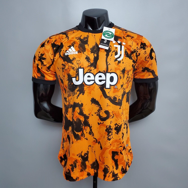 Camisa Juventus   2020-2021 Uniforme 3 -Adidas-Jogador