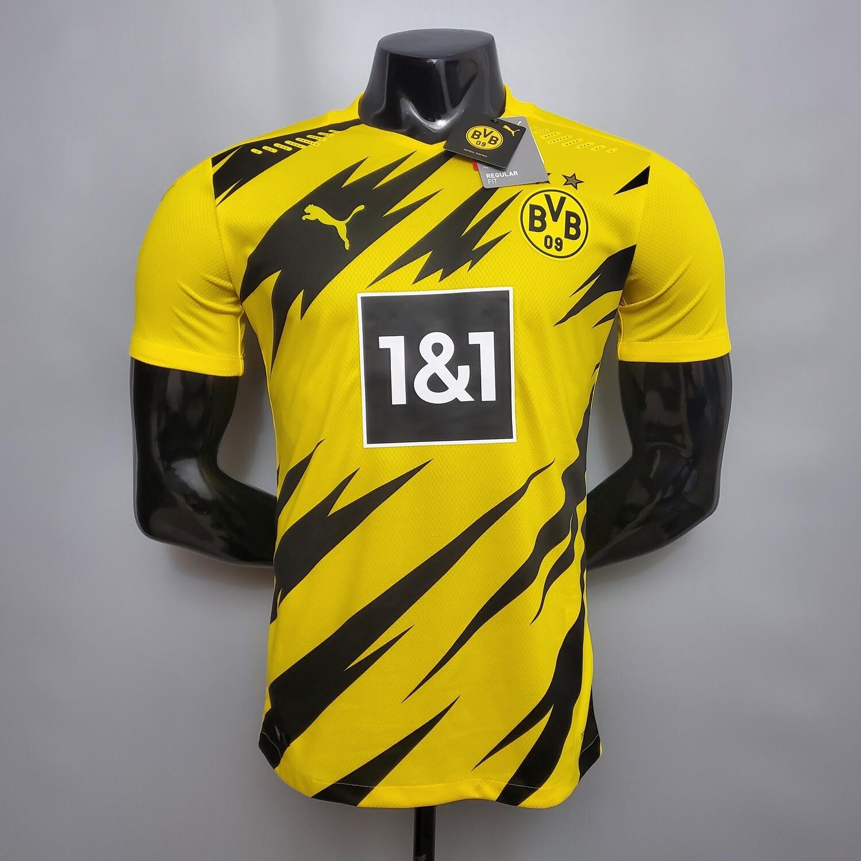 Camisa Borussia Dortmund Home 2020/2021 Jogador Puma Masculina