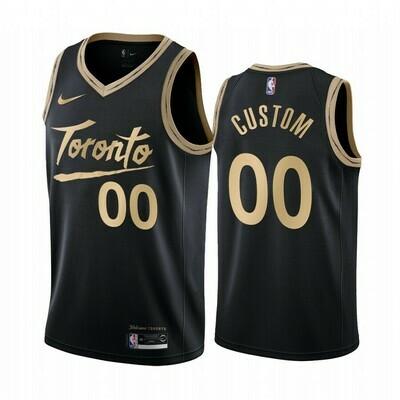 Regata Nike Toronto Raptors City Edition 2019/20 #00 Cusom