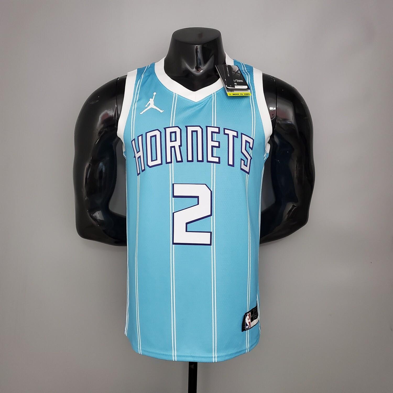 Regata  Charlotte Hornets Jordan Blue - BALL #2
