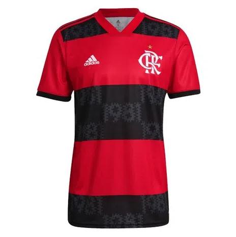 Camisa Flamengo Jogo 1 Adidas 2021