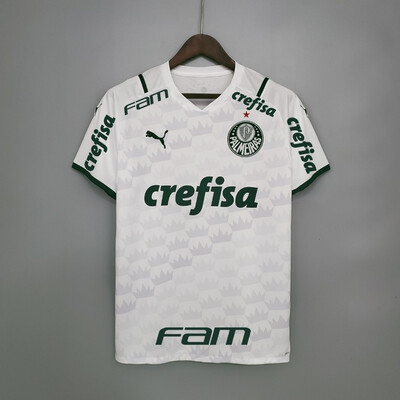Camisa do Palmeiras II 2021 Puma - Masculina Patrocínios