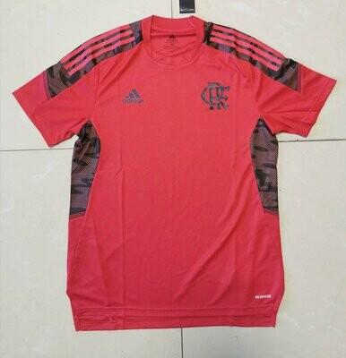 Camisa Flamengo Treino 21/22 Adidas Masculina - Vermelho