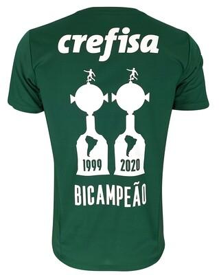 Camisa I  Puma Sociedade Esportiva Palmeiras 2021/22 Bicampeão da Libertadores