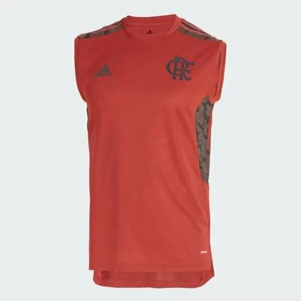 Regata Flamengo Treino Vermelha Adidas 2021